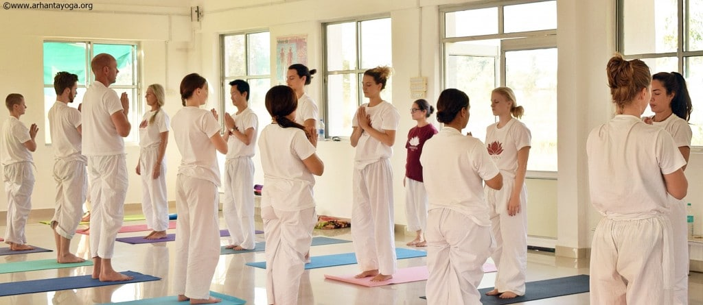 Arhanta Yoga teacher training India jan 2016