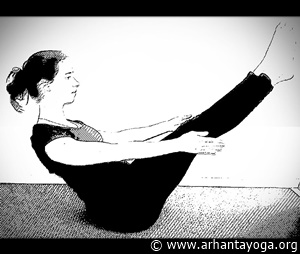 yoga exercises abs boat pose 2