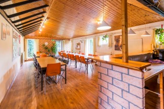 Arhanta Yoga Ashram Netherlands Dining Room