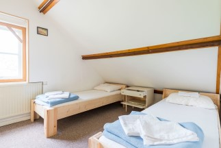 Yoga Ashram Europe Double Shared Room