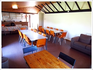 Ashram Netherlands dining room