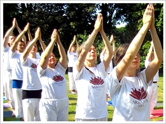 Yoga instructor training at ashram in Europe
