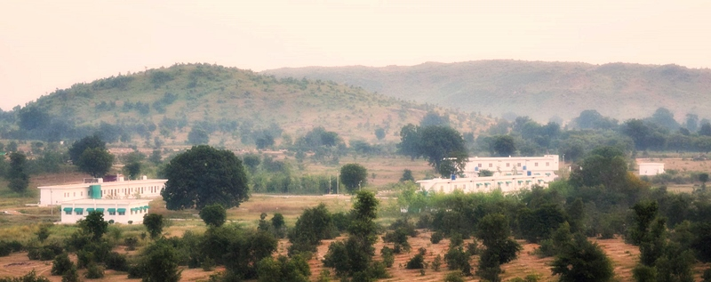 Arhanta Yoga ashram India accommodations