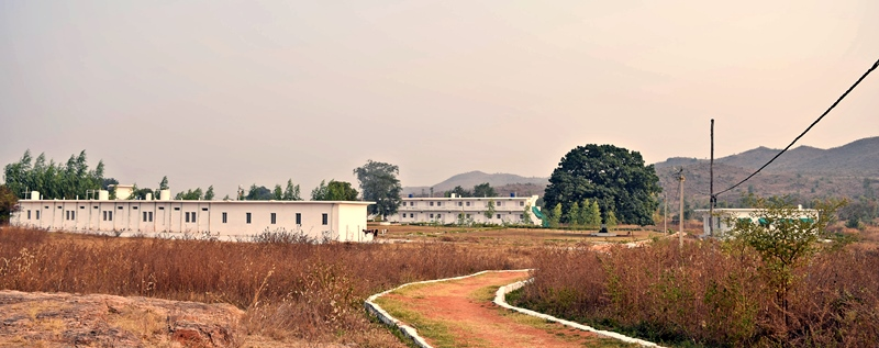 Arhanta Yoga Ashram India Back view